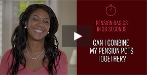 Can I combine my different pension pots together?