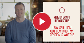 How can I find out how much my pension is worth?